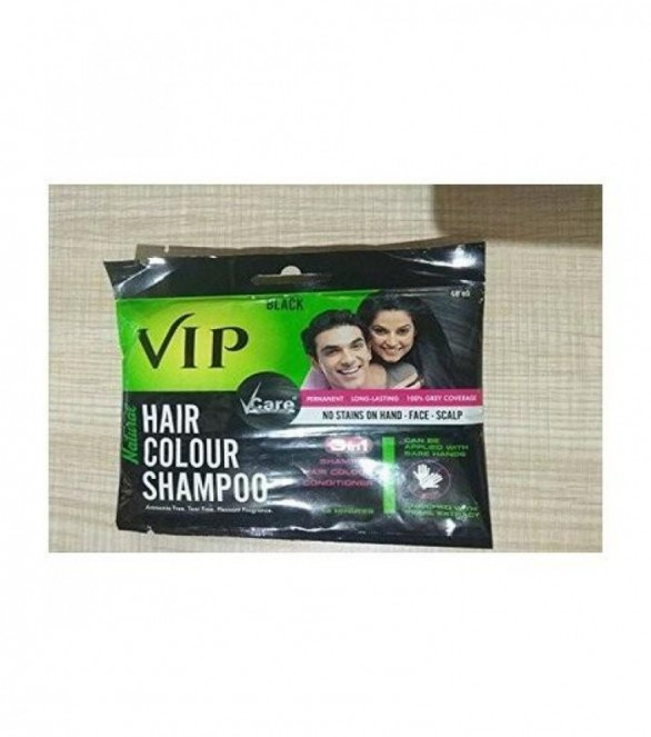 9200edf0c Buy VCARE VIP HAIR COLOUR SHAMPOO 40ML - Buy online medicine at ...