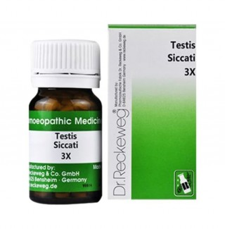 Dr. Reckeweg Testes Siccati 3x Homeopathic Tablet