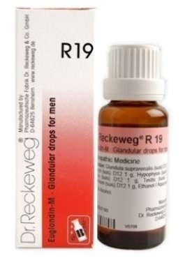Dr. Reckeweg R19 Glandular Drops for Men