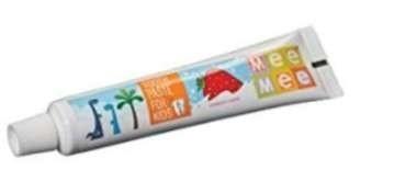 Mee Mee Fluoride Free Toothpaste Strawberry