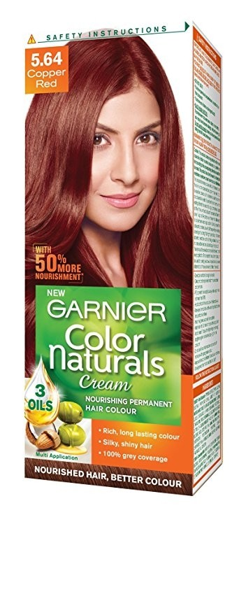 GARNIER COLOR NATURAL CREAM - COPPER RED