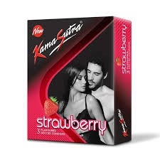 KAMASUTRA STRAWBERRY - 3S